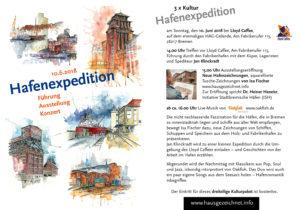 Einladung Hafenexpedition